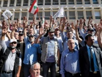 لبنان.. عسكريون متقاعدون يحتجون على مشروع إقرار موازنة تقشفية