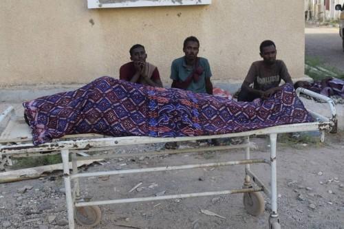 العثور على جثة أفريقي في إحدى صحاري محافظة لحج