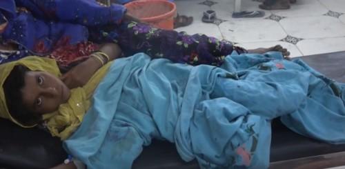 إصابة طفلة في انفجار لغم حوثي بالدريهمي (فيديو)