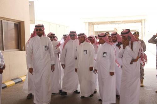 محافظ الجمارك السعودية يتفقد منفذ الوديعة للوقوف على استعداداته