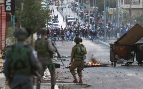 إصابة 22 فلسطينيًا بينهم صحفيون في مسيرات بكفر قدوم