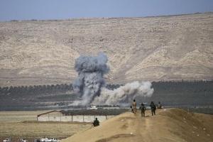 مقتل 10 إرهابيين في ضربة جوية على الحدود السورية العراقية
