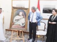 """""""بريطانيا"""" تهدي الإمارات لوحة القديسة مريم المجدلية"""