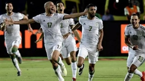 منتخب الجزائر يصل إلى بلاده