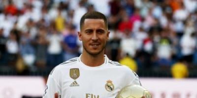 ريال مدريد يعلن رقم قميص هازارد الجديد