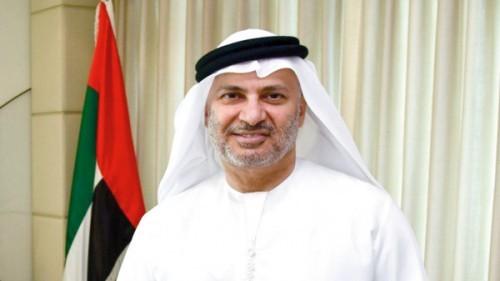 قرقاش: التحالف العربي يصر على تحقيق كل أهدافه الاستراتيجية