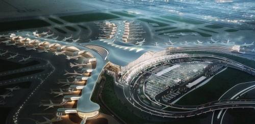 مطارات أبوظبي تعلن عن تنفيذ التجارب التشغيلية بالمطار الجديد (صور)
