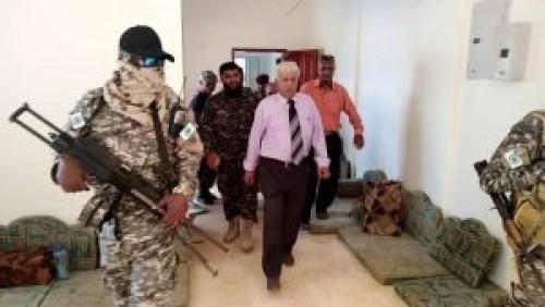 حماية المنشآت الحكومية بالدعم الإسناد تتولى تأمين مرفق هام في عدن