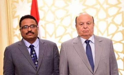 أنباء التعديل الوزاري.. الجبواني يتودد للتحالف العربي للبقاء في منصبه