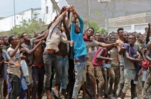معسكر توطين الأفارقة.. هل تورَّطت الأمم المتحدة في الجريمة الحوثية النكراء؟