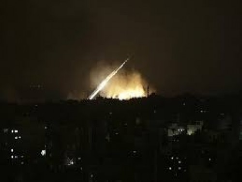 عاجل: هجوم إسرائيلي على منطقة تل الحارة بسوريا