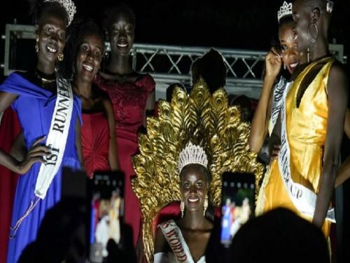 الحروب والمجاعات لم تمنع جنوب السودان من اختيار ملكة جماله