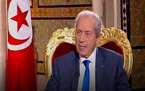 رئيس البرلمان التونسي يؤدي اليمين الدستورية كرئيسًا مؤقتًا