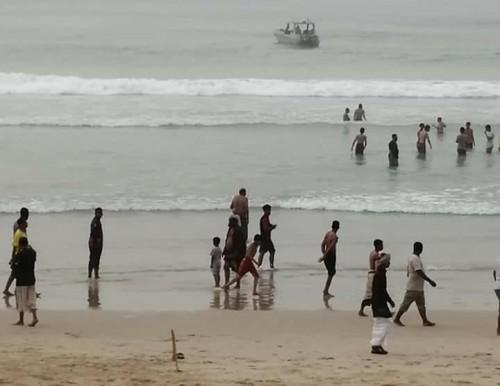 تفاصيل إنقاذ طفل من الغرق في سواحل قصيعر