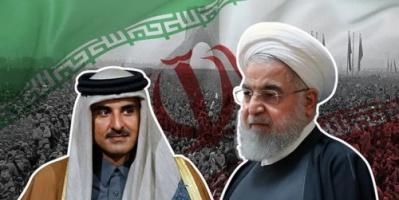 """انقلاب الحلفاء.. هاشتاج """"إيران تهدد بضرب قطر"""" يتصدر تويتر الخليج"""
