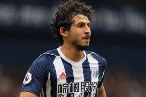 غياب أحمد حجازي عن فريق وست بروميتش الإنجليزي 8 مباريات
