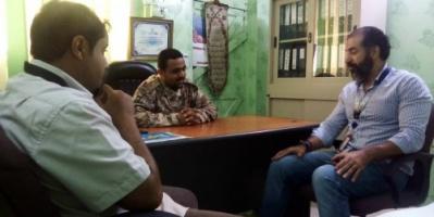 تفاصيل لقاء مدير أمن ميناء المعلا مع مسئولين بالمنظمة الدولية للهجرة