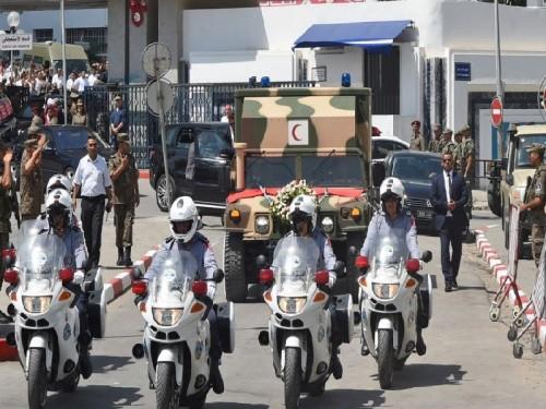 انطلاق مراسم الجنازة الرسمية للرئيس التونسي الراحل (بث مباشر)
