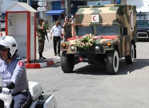 بدء نقل جثمان الرئيس التونسي الراحل إلى مقبرة الجلاز