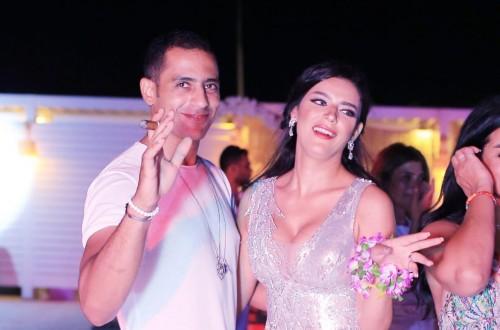 هبة السيسي تحتفل بزفافها في الساحل الشمالي بحضور نجوم الفن