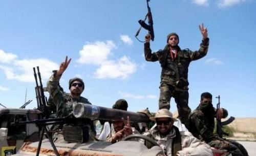 الجيش الوطني الليبي يتقدم باتجاه الطريق الساحلي شرقي طرابلس