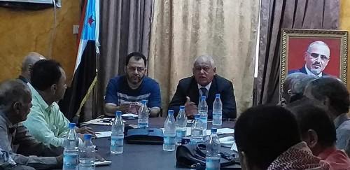 بالتفاصيل..اجتماع هام للهيئة التنفيذية بانتقالي العاصمة عدن (صور)