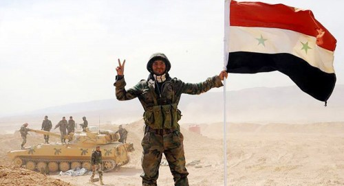 وقوع قتلى وجرحى من عناصر الجيش السوري إثر انفجار عبوة ناسفة