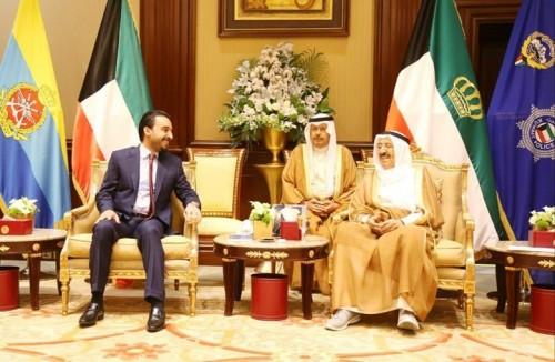 أمير الكويت ورئيس مجلس النواب العراقي يبحثان مستجدات الأوضاع