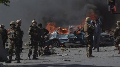 ١٤ قتيلًا ومصابًا في انفجار قرب مركز شرطة كابول