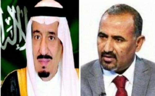 الزُبيدي يُعزي الملك سلمان في وفاة الأمير بندر بن عبدالعزيز