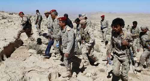 الجيش يستعيد سوق الثلوث في مديرية كتاف بصعدة