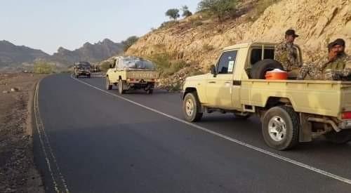 قوافل الدعم وانحسار المقاتلين يحسمان ميزان القوة العسكرية بالضالع
