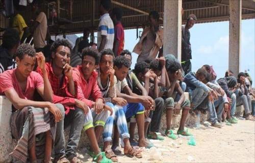 المال القطري وراء استعانة المليشيات الحوثية بالمهاجرين الأفارقة