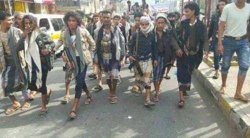 جرائم الحشد الإصلاحي في تعز لخدمة المليشيات الحوثية