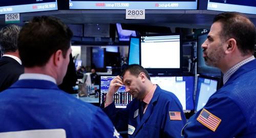 الأسهم الأمريكية تتراجع.. وداو جونز يرتفع 0.11%