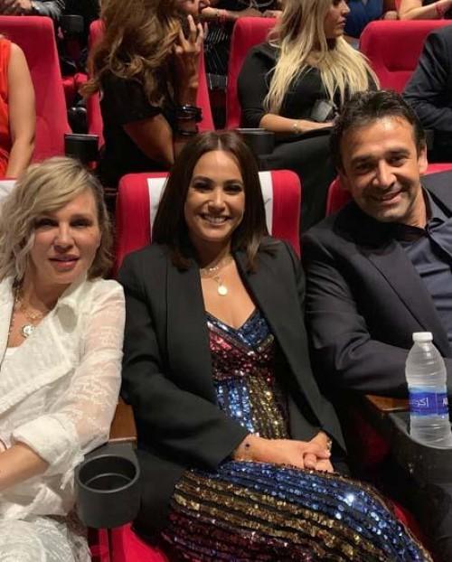 """هند صبري تشارك جمهورها صور العرض الخاص لـ """" الفيل الأزرق 2 """""""