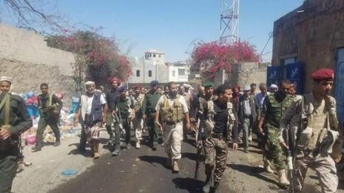 جرائم مليشيات الإصلاح في تعز تطال العسكريين التابعين لها