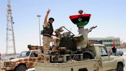 الجيش الليبي: قصفنا شاحنتين لمليشيات حكومة الوفاق محملتين بالذخيرة