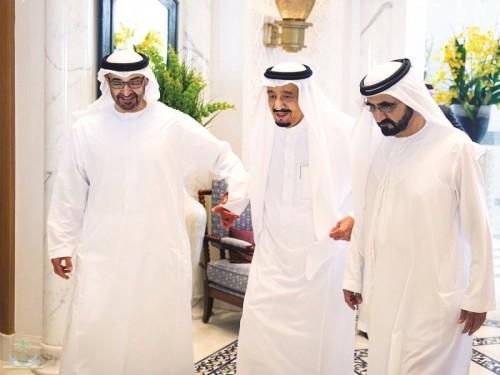 """رسالة للفتنة القطرية.. """"السعودية تكشف شهامة الإمارات"""" يتصدر تويتر"""