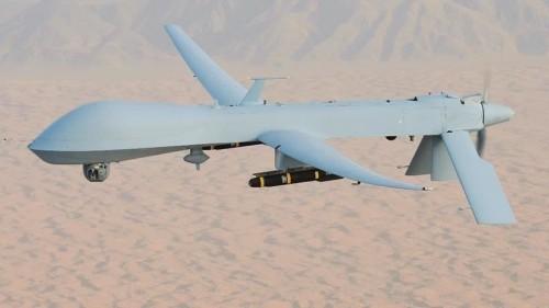 مصادر.. هجوم معسكر الجلاء تم بطائرة مسيرة