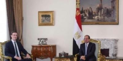 تعرف على تفاصيل لقاء الرئيس المصري مع مستشار ترامب