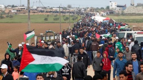 إصابة صحفيين برصاص الاحتلال الإسرائيلي على حدود غزة