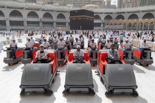 المملكة تخصص 10 آلاف عربة مجانية لخدمة حجاج بيت الله الحرام