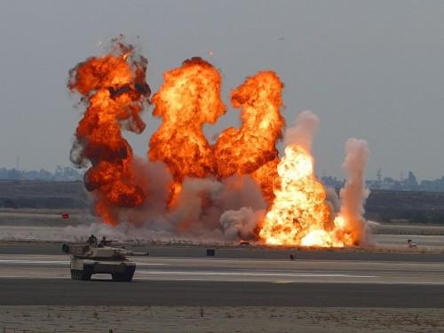 ارتفاع حصيلة ضحايا انفجار مطار الشعيرات بسوريا إلى 20 قتيلًا