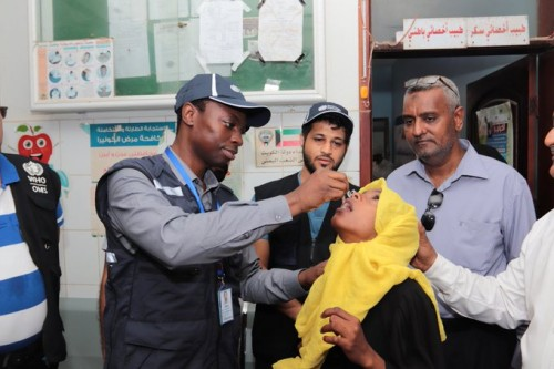 تدشين الجولة الثانية من حملة التحصين ضد الكوليرا في عدن والضالع وتعز (صور)