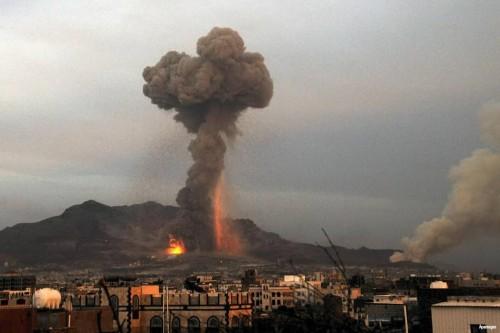 انفجارات عنيفة في صنعاء جراء تجارب حوثية