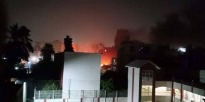 """عقب الانفجار الهائل.. هاشتاج """"معهد الأورام"""" يتصدر تويتر مصر"""