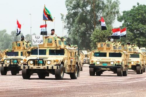 الجيش العراقي يعلن انطلاق عملية عسكرية واسعة ضد داعش