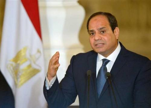 السيسي: مصر بكل مؤسساتها عازمة على اقتلاع الإرهاب من جذوره