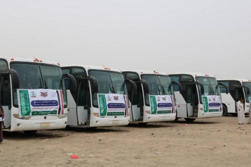 مغادرة 600 حاج إلى الأراضي المقدسة من أسر شهداء الجيش (صور)
